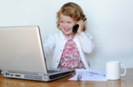 little-girl-in-an-office